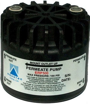 Permeate-booster pump