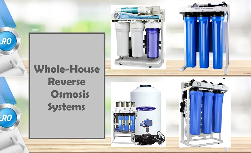 Whole-house reverse osmosis systems
