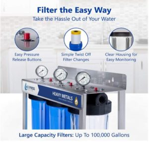whole house water purification systems for well water