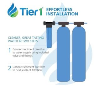 whole house water filtration and softener system salt free