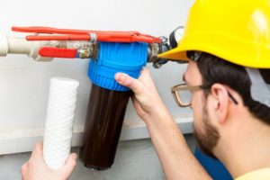 chlorine water filter whole house