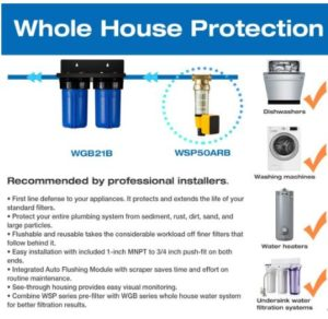 best whole house chlorine water filter