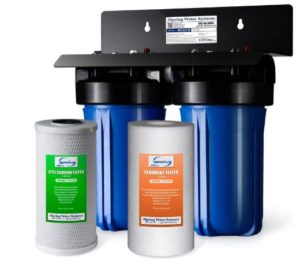 whole house chlorine water filter